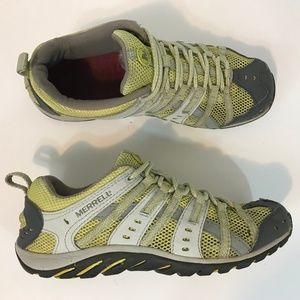 Merrell Mykos Hiking Water Shoe Womens Size 8 Lime
